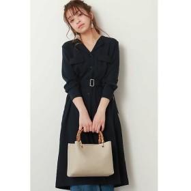 N.Natural Beauty Basic / エヌ ナチュラルビューティーベーシック スキッパー羽織りワンピース