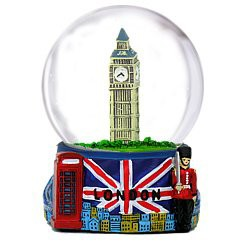 Musical Snow Globe D.C President Souvenirs Famous Building of Washington