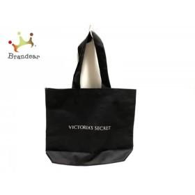 ヴィクトリアシークレット Victoria's Secret トートバッグ 黒×ピンク ナイロン   スペシャル特価 20190504