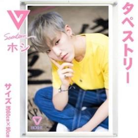 【送料無料】  SEVENTEEN セブンティーン ホシ セブチ 大型 タペストリー 韓流 グッズ bb141-3