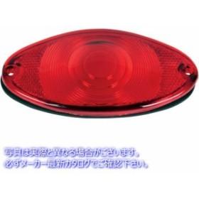 【取寄せ】 ドラッグスペシャリティーズ  DRAG SPECIALTIES LENS W/GASKET CATEYE RED LENS W/ ガスケット CATEYE RED