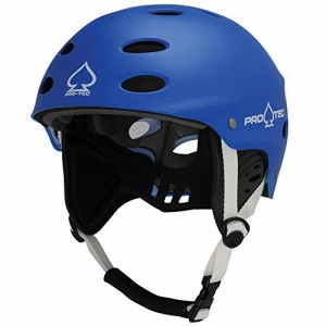 Wakeboard Helm PROTEC ACE WAKE Helm 2018 matte blue Kite Wake Board Helm