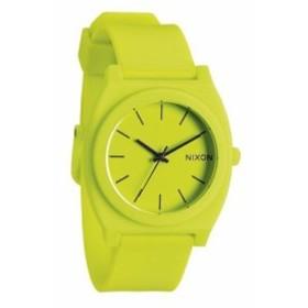【当店1年保証】ニクソンNixon Unisex The Time Teller P - Neon Yellow