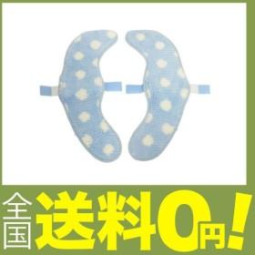カキウチ トイレファブリック ドットブルー 幅17×奥行40×高さ0.5cm