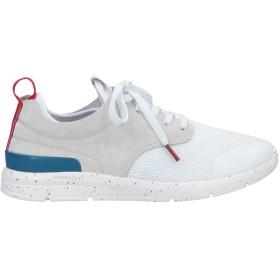 《期間限定 セール開催中》PEPE JEANS メンズ スニーカー&テニスシューズ(ローカット) ホワイト 40 紡績繊維 / 革