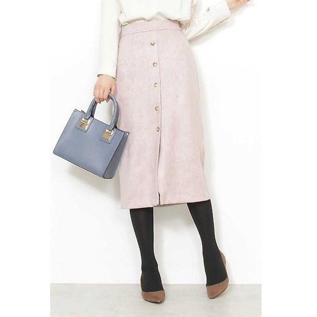 N.Natural Beauty Basic / エヌ ナチュラルビューティーベーシック エコスウェードタイトスカート