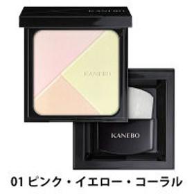 KANEBO(カネボウ) プレストパウダースライドコンパクト 01(Nuance Light) ケース・ブラシ・コンパクトカバーケース付