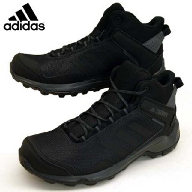 8fef896ce47eed アディダス adidas TXHIKER MID GTX F36760 テレックスハイカー ミッド ゴアテックス 黒 防水 登山靴 トレッキング
