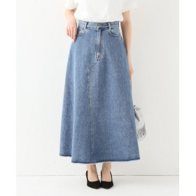 MADISON BLUE 5POCKET ロングデニムスカート