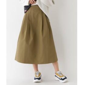 aquagirl / アクアガール タックツイルミディスカート