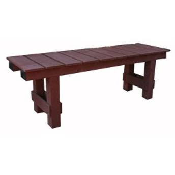 ▼腐らないJJウッド縁台 1235 DIY ブラウン人工木 (ベンチ ガーデニング 椅子 園芸 庭) ガーデンベンチ