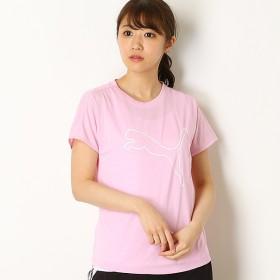 [マルイ]【セール】【プーマ】レディーストレーニングSSシャツ(エクスプローシブ SS キャット Tシャツ)/プーマ(PUMA)