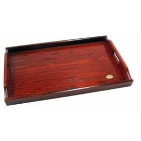 トレー富士型長手盆 51cm (木製トレー お盆 トレイ トレー) 001-011