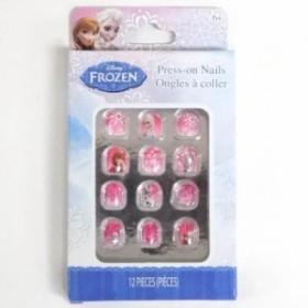 アナと雪の女王 付け爪12Pセット 【キッズ 子供用 ネイルチップ つけ爪 玩具 おもちゃ】