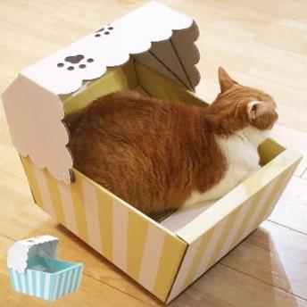 キャットハウス またたび 爪とぎ付き 猫 ペットハウス nekoto ゆらゆら猫ちぐら ( ネコ ねこ 猫用品 爪とぎ 屋内 室内 猫用 ハウス 家