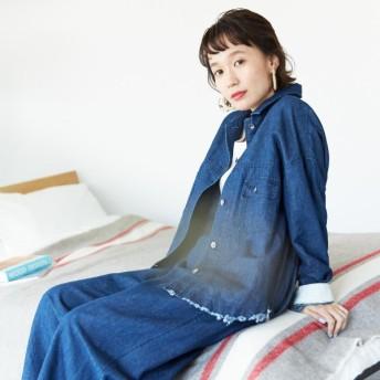 [マルイ]【セール】〔ONIGIRI〕 コットンリネンデニム ワークシャツ ブルゾン/コムサイズムレデイス(COMME CA ISM)