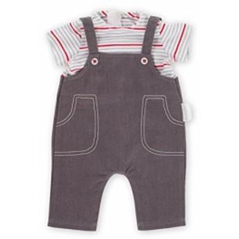 """コロールCorolle 14"""" Smock & Denim Overall Baby Doll"""