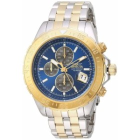 【当店1年保証】インヴィクタInvicta Men's Aviator Quartz Watch with Two-Tone-Stainless-Steel Str