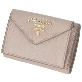 プラダ PRADA 2019年春夏新作 三つ折り財布 ミニ財布 サフィアーノ 三つ折り財布 1MH021 QWA 236