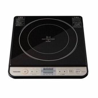 「納期約7〜10日」MR-Z30J-K[TOSHIBA 東芝] 卓上IH調理器 ブラック MRZ30JK