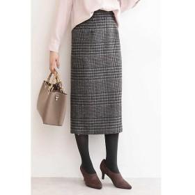 N.Natural Beauty Basic / エヌ ナチュラルビューティーベーシック チェックタイトスカート