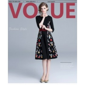 0bb0571ab4a9a クラシック スカーフ付き セパレートドレス ヴィンテージ風 パーティー ...