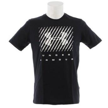 アンダーアーマー(UNDER ARMOUR) ブランドビッグロゴ 半袖Tシャツ 1329588 BLK/WHT AT (Men's)