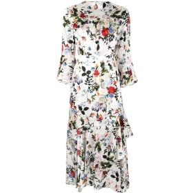 Erdem フローラル ドレス - ホワイト