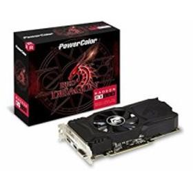 PowerColor AMD RX 560搭載 グラフィックボード 4GB AXRX 560 4GBD5-DHA(中古品)