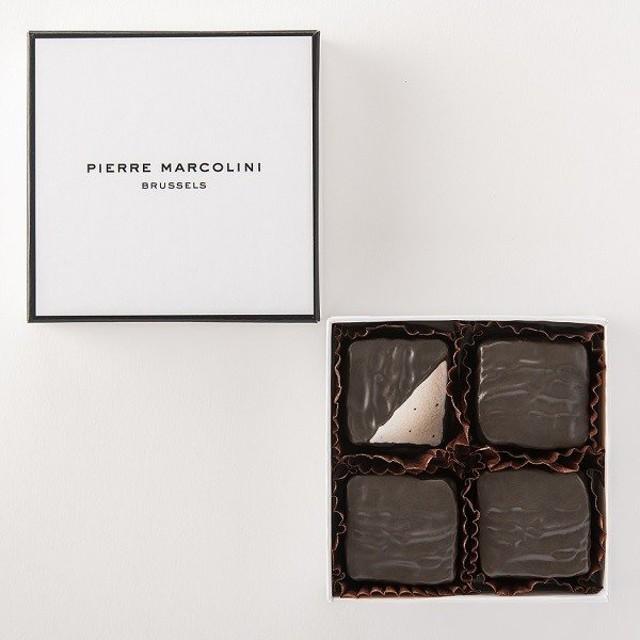 ホワイトデー お返し チョコ ピエール マルコリーニ ギモーブショコラ 4個入り
