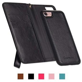 iphone8ケース iphone7ケース 手帳型 カード収納 財布型 スタンド機能 耐衝撃 耐摩擦 PU アイフォン7マグネット式 スマホケース ...