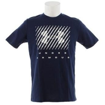 アンダーアーマー(UNDER ARMOUR) ブランドビッグロゴ 半袖Tシャツ 1329588 ADY/WHT AT (Men's)