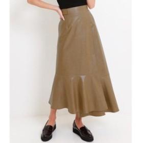 アナップ(ANAP)/コーティングファブリックラップスカート