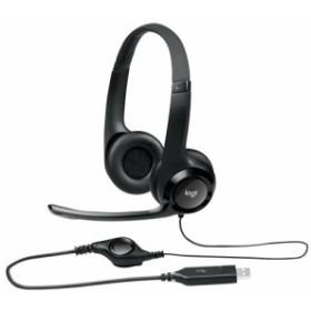 ロジクール H390R(ブラック) USB Computer Headset