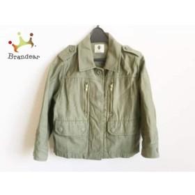 ブージュルード Bou Jeloud ジャケット サイズ38 M レディース 美品 ダークグリーン   スペシャル特価 20190607
