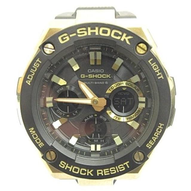 cbe5db97b9 カシオジーショック CASIO G-SHOCK G-STEEL GST-W100G Gスチール アナログ