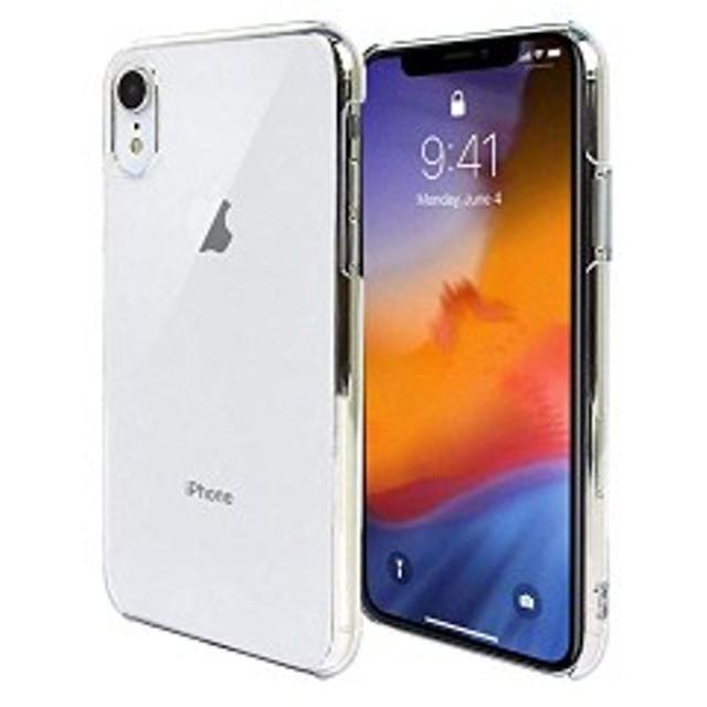 506aa78a99 iPhone XR 6.1 インチ スマホケース クリア カバー 耐衝撃 薄型 シンプル 高光沢 軽量 保護 ハード