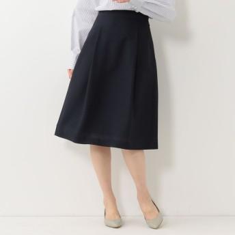 [マルイ]【セール】<closet story>□スラブ タックフレアスカート -手洗い可能-/ザステーションストア ユナイテッドアローズ(THE STATION STORE)