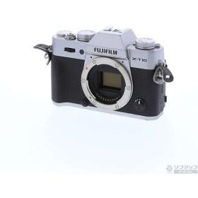 〔中古〕フジフイルム FUJIFILM X-T10 ボディ シルバー