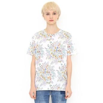 [マルイ]【セール】【ユニセックス】コラボレーションTシャツ/リース(ハーベストテキスタイルデザイン)/グラニフ(graniph)