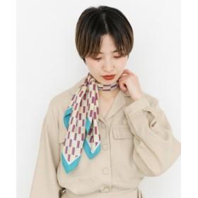 KBF(ケービーエフ) ファッション雑貨 バンダナ・スカーフ レトロ柄スカーフ