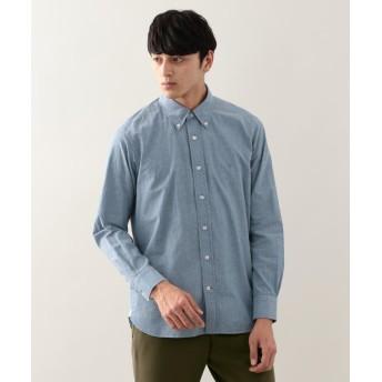 【22%OFF】 マッキントッシュ フィロソフィー シャンブレー ボタンダウンMPシャツ メンズ ブルー 40 【MACKINTOSH PHILOSOPHY】 【セール開催中】