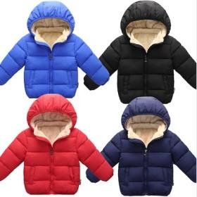 新品 女の子 男の子 キッズ服 子ども 子供服 子供ジャケット・ダウンコート 中綿 ジャケット 裏起毛 防寒☆ 防風 5COLOR