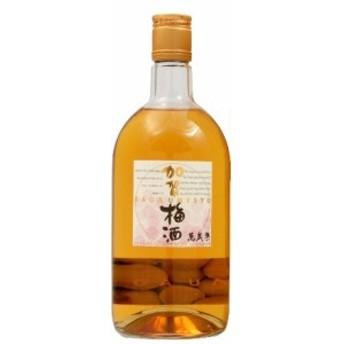 萬歳楽 加賀梅酒 720ml 1本【ご注文は1ケース(12本)まで一個口配送可能】