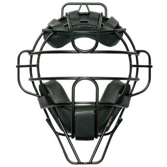 MIZUNO SHOP [ミズノ公式オンラインショップ] 【ミズノプロ】硬式/審判員用チタンマスク(野球) 09 ブラック 1DJQH100