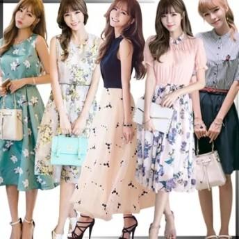 正規品 韓国ファッション 長袖、半袖、セレブなOL気質の職業の服装,レーススカート,レディースファッション