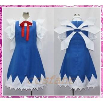 コスプレ衣装 東方Project 東方紅魔郷 チルノ