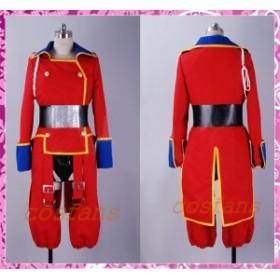 コスプレ衣装 マクロスFRONTIER マクロスフロンティア 24話 赤色 軍服