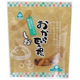 サンコー おから堅揚・しお80g 揚げ菓子・スナック菓子