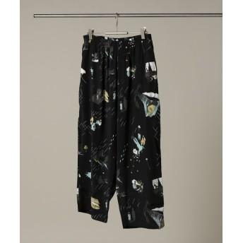 ジャーナルスタンダード Porter Classic / ポータークラシック : FILM NOIRALOHA PANTS メンズ ブラック S 【JOURNAL STANDARD】